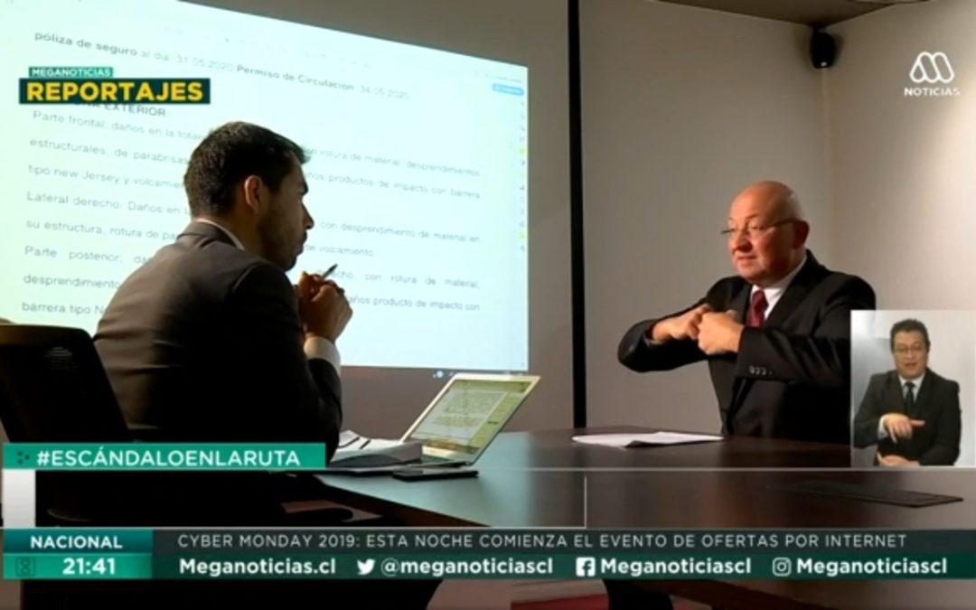 Participación del profesor Walter Adrian en reportaje que realizó Meganoticias